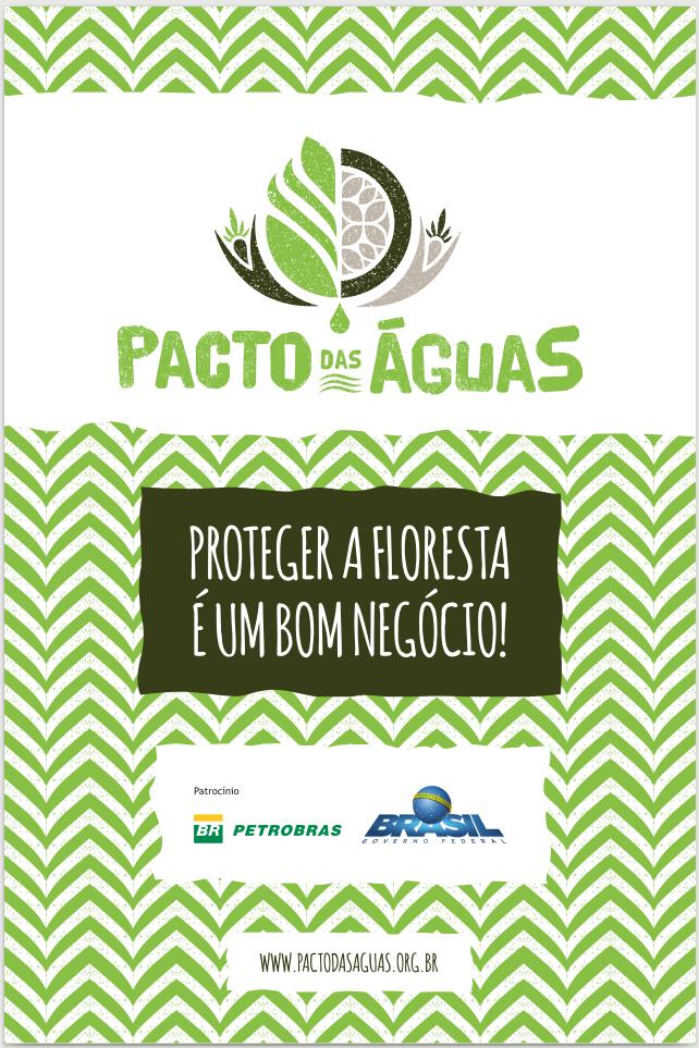 Banner proteger a floresta é um bom negócio