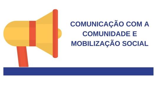 curso comunicação com a comunidade e mobilização social