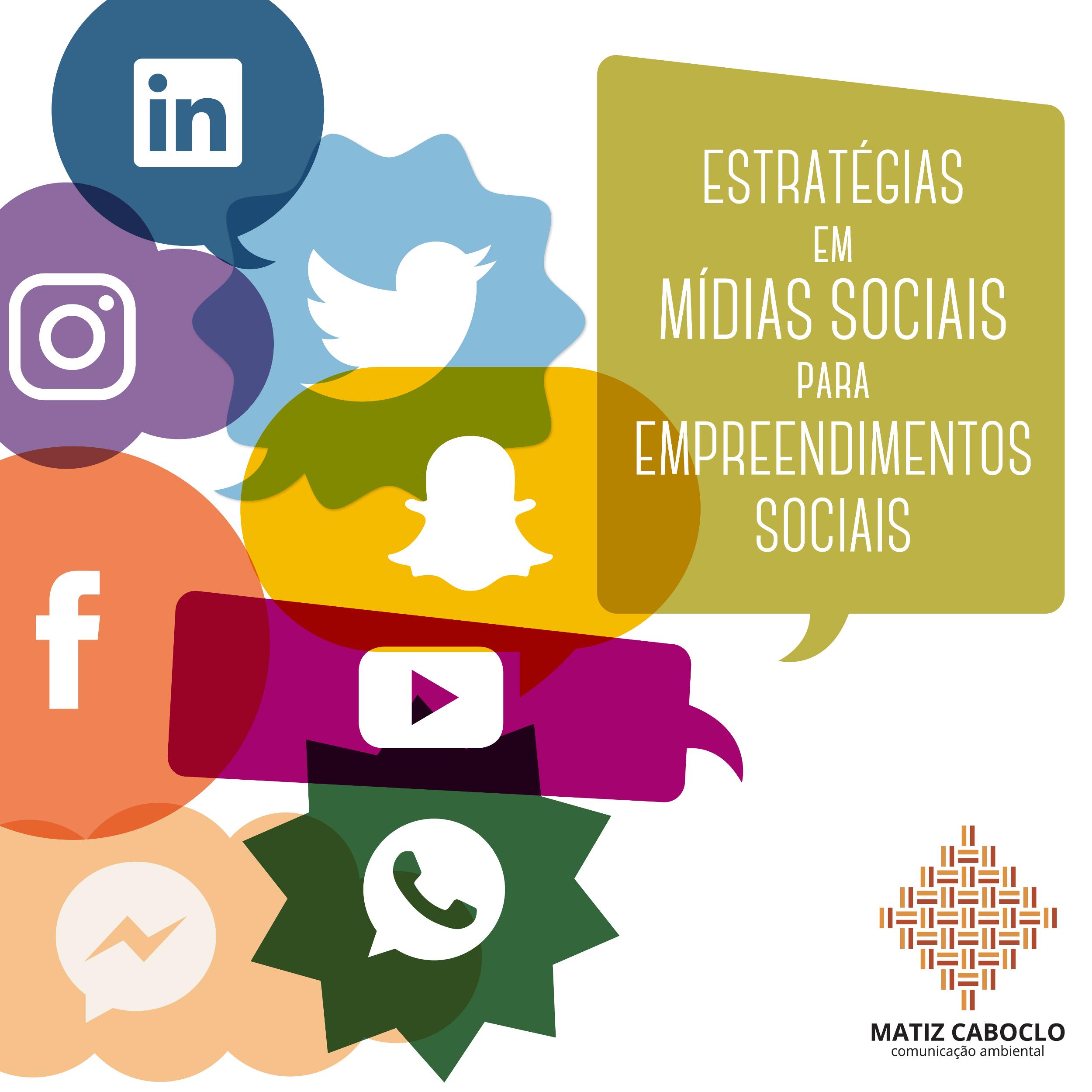 curso estratégias em mídias sociais para negócios sociais