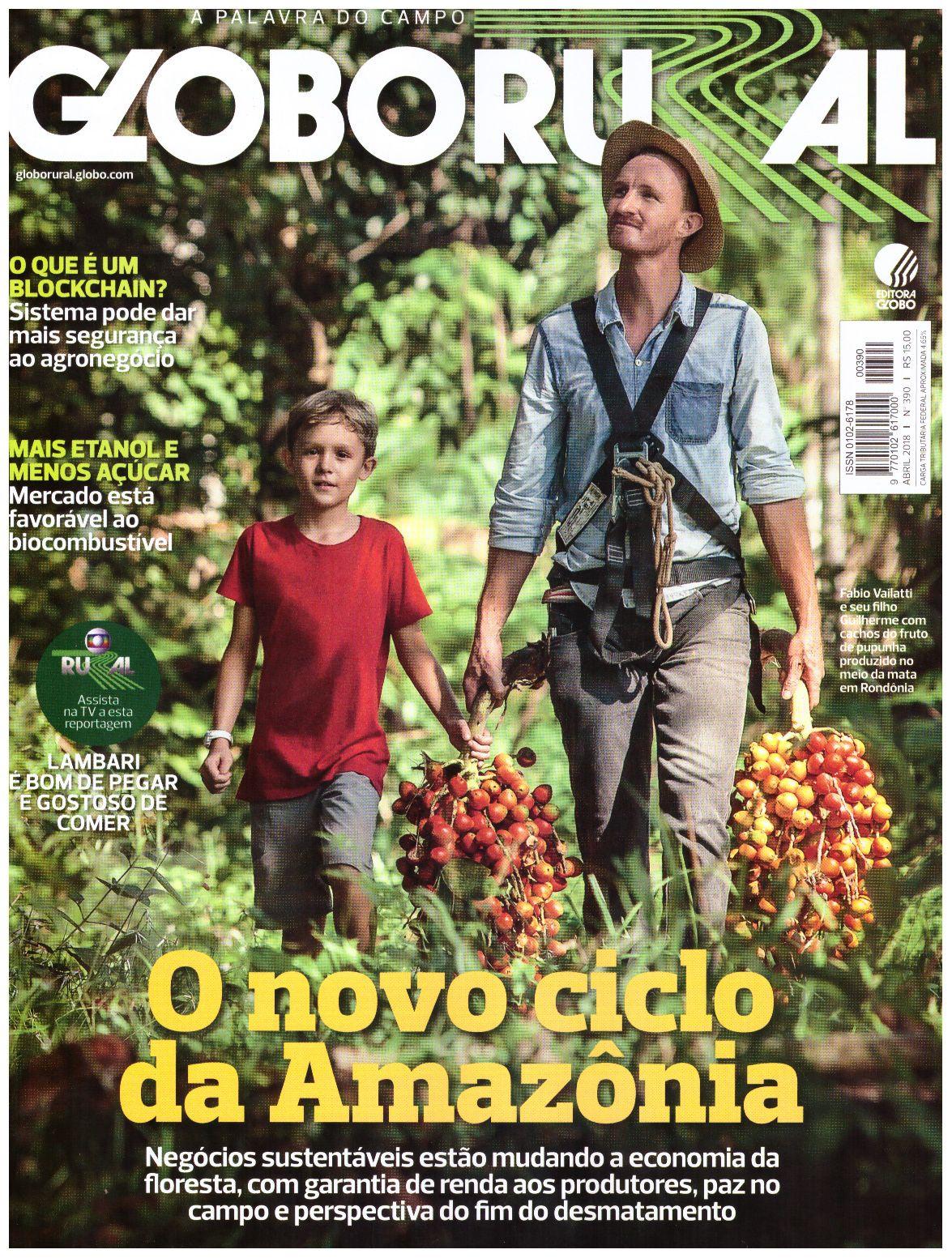 capa da revista Globo Rural
