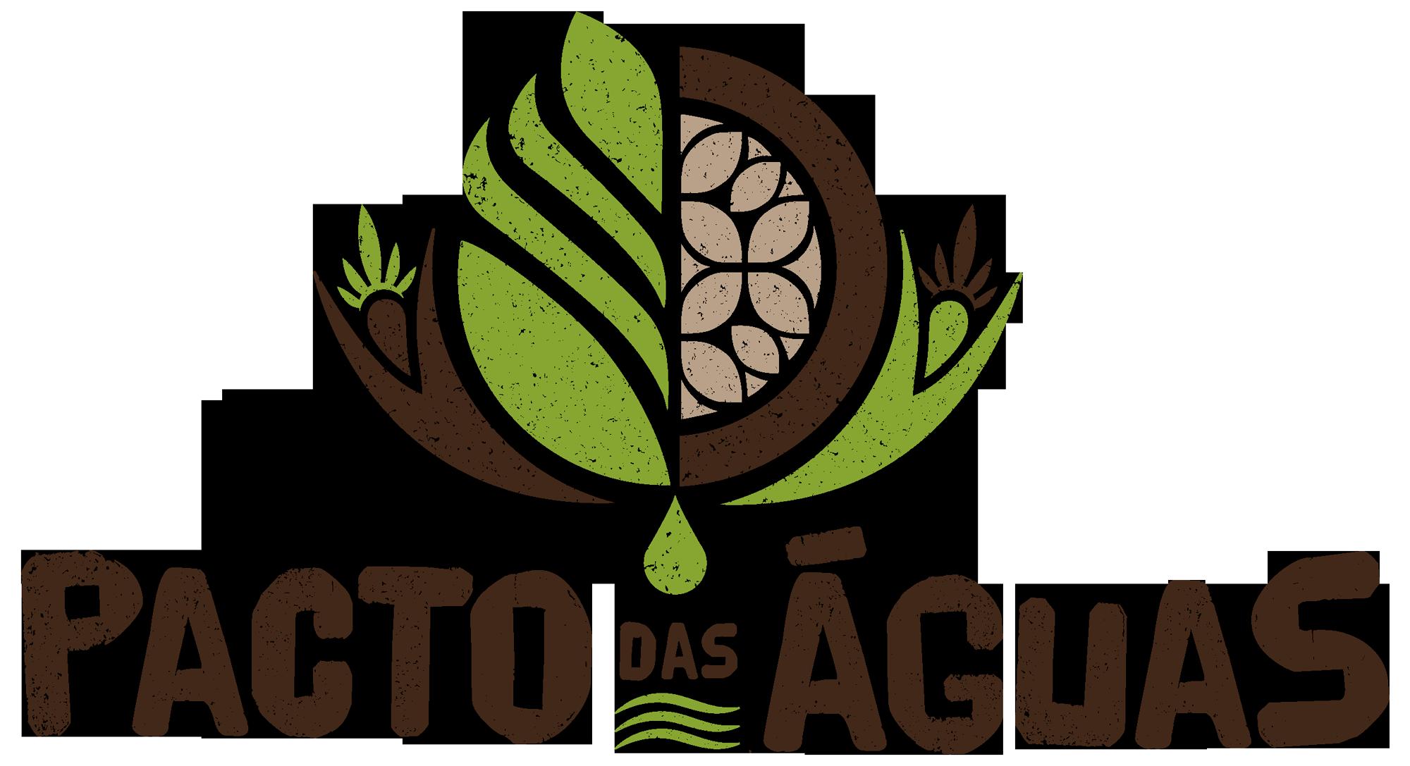 logomarca pacto das águas